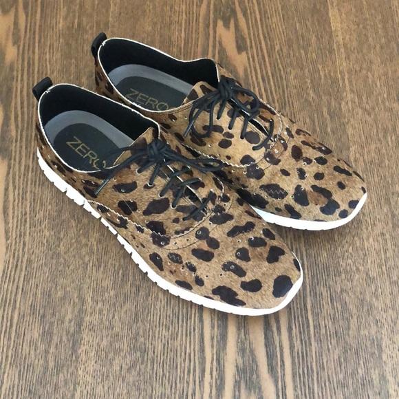 Cole Haan Zerogrand Leopard Calf Hair